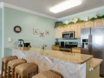 Fully-equipped Kitchen and Plenty of Seating!