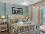 King Size Bed with Private Balcony Access