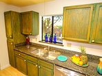 You will find plenty of Spectacular Cabinet space in this fully equipped kitchen