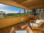 Relax in one of the four outdoor living areas throughout the house