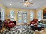 Spacious open living area!  Relax on the Balcony with a morning cup of coffee while taking in the salty breezes and...