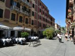 Lovely cafè, bars and restaurants near by, together with shops and supermarkets