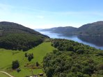 Loch Ness at Foyers (9 miles from cottage)