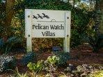 Your villa is located in the Pelican Watch Villa community
