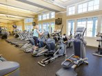 Discounted gym access included in the Amenity Card provided! (discounted to $15/day of use)