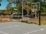 Shoot some hoops in the basketball court located next to park for even more fun