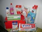 cassetta di pronto soccorso per medicazioni di piccoli infortuni domestici