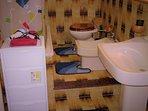bagno con doccia o vasca