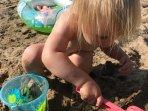 Kul att gräva i sanden