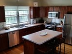 Full open kitchen with all new appliances