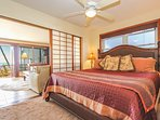 Master Bedroom with Living Room and Lanai