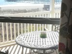 one of several views to the beach from master BR windows...writing desk has the best ones