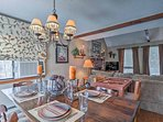 Enjoy home-cooked meals around the 4-person dining room table.