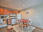 Prepare mouthwatering homemade meals in the fully equipped kitchen.