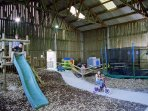 Shared play barn