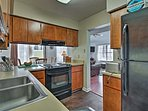 Cook up your own southern inspired cuisine in the fully equipped kitchen!