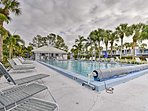 Relax at the community pool with your loved ones.