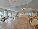 Host a party in this grand community space!
