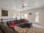 Loft with sofa sleeper