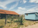 The Sheringham Hut is booked with Lily Barn