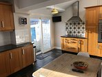 kitchen with welsh vintage farmhouse breakfast table