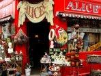 Portobello Market, 15 minutes walk away