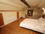 Willow Cottage Yafford - bedroom with under eaves storage