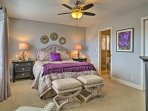 You'll be ready for a good night's sleep in one of the 3 bedrooms.