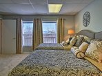Wake up to mountain views no matter what bedroom you stay in!