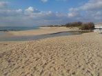 Spiaggia di sabbia finissima a San Pietro in Bevagna