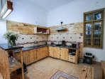 Shared kitchen on 1st floor of Lily Homestay