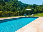 Casa Lera will astound you!  You'll love the private pool situated in a secluded valley.