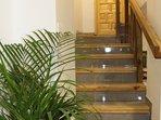 Escalera para acceder al altillo