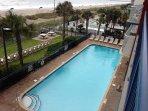 Large Outdoor Pool  Heated Seasonally