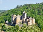 Chateau Bonaguil - 15 mins from Le Seguinet.