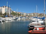 Port d'Argeles - bars, cafes, restaurants, shops and boat trips