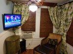 Cozy tv area  second bedroom