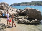 The Montgó Beach is closest to the house. Perfect for childrens water activities