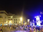 Lots of Fiestas over the summer - celebrated with music and dance in the street.