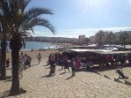 Market for all ;-) along the coast every Sunday between 9 and 13 o'clock