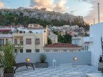 Terrace with view to Acropolis