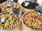 olives grown locally, to savour and choose