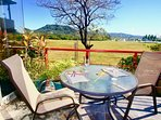 Beach and Ocean view from your private balcony!  Fresh ocean breezes, very quiet and peaceful