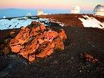 Mauna kea at sun rise..