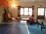 There is plenty to do in the Games Room, including a book, DVD and games library.