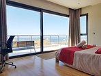 Second floor ensuite master bedroom with ocean view