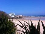 Porthminster Beach 5 minutes walk away from Porthminster House