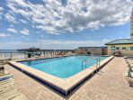 Take a break from the sand and salt and enjoy the heated community pool year round!