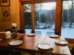 dining with a seasonal view