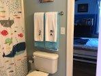 Kids jack and Jill bathroom upstairs